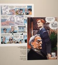Hommage au dessinateur Enki Bilal dans «Les Spectres d'Inverloch» (1984).