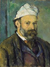 Portrait de l'artiste au bonnet blanc, 1881-1882