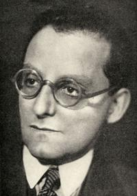 Max Brod, ami et exécuteur testamentaire de Franz Kafka.