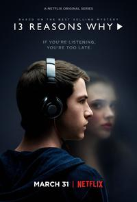 La série 13 Reasons why, disponible en streaming sur Netflix.