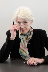 Françoise Hardy, en 2013, au Salon du Livre.