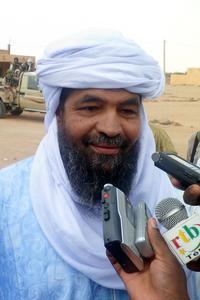 Le touareg Iyad Ag Ghaly, chef du groupe djihadiste GSIM.