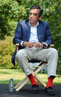 François Fillon avec ses chaussettes Gammarelli (Crédits photos: Jean-François Monier/AFP)