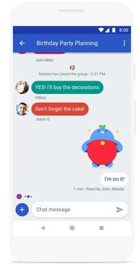 La future application «Messagerie» de Google