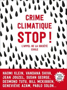 Couverture du livre Crime climatique, Stop