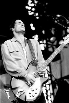 Jeff Buckley en concert, en 1993.