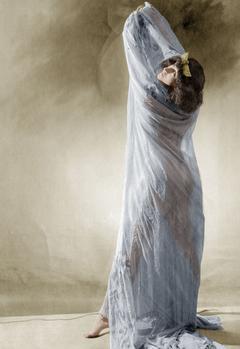 Colette en danseuse exotique dans «Rêve d'Égypte» en 1907.