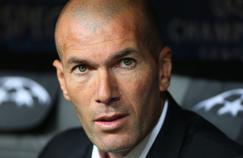 Zinédine Zidane, entraîneur de l'équipe réserve du Real Madrid.