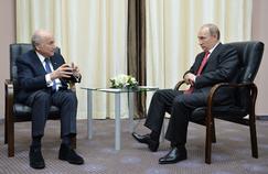 Sepp Blatter a rencontré Vladimir Poutine à Sotchi lundi.