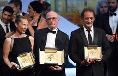 Emmanuelle Bercot, Jacques Audiard et Vincent Lindon, les trois Français primés au Festival de Cannes.