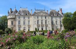 Le château de Lude (Sarthe) accueille chaque année, depuis 1994, sa traditionnelle Fête des Jardiniers.