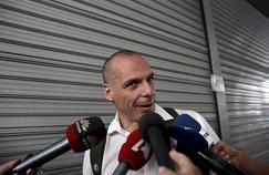 Yanis Varoufakis souhaiterait que la Grèce participe au programme de rachat de dette de la BCE (Crédit: Alkis KONSTANDINIDIS/REUTERS)