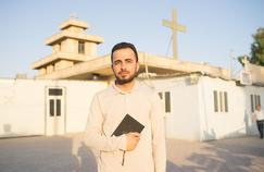 Savin, originaire de Qaraqosh, vient de terminer sa première année de philosophie au séminaire d'Erbil. Crédit photo: Edouard de Mareschal / Le Figaro