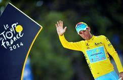 Vicenzo Nibali, vainqueur du Tour de France 2014.