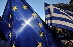 Manifestation proeuropéenne, le 2 juillet à Athènes.