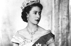 La reine Elizabeth II d'Angleterre en 1952.