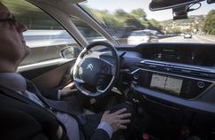 Le prototype C4 Picasso autonome freine et accélère en fonction du trafic.