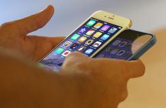 Les iPhone 6 et 5s.