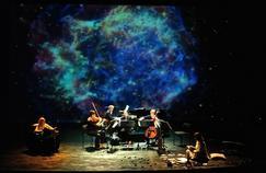 L'ensemble Calliopée a fait l'ouverture du concert avec Hubert Reeves, hier soir à Challans.