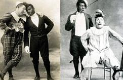 L'inimitable duo de fantaisistes Foottit et Chocolat vers 1885.