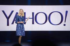 Marissa Mayer, patrone de Yahoo en janvier 2014.