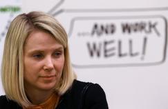 Marissa Mayer, PDG de Yahoo!, lors du forum économique mondial à Davos en janvier 2014.