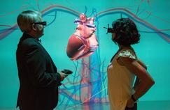 Un cœur virtuel en 3D, réalisé par la division Sciences de la vie de Dassault Systèmes.