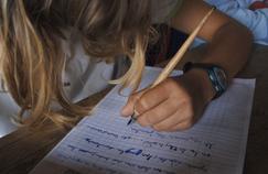 Photo d'illustration dans une école élementaire, à Caen, en 2007.