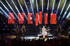 Louane, lors de la cérémonie des NRJ Music Awards, au Palais des Festivals de Cannes, en novembre.