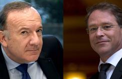 Pierre Gattaz, patron du Medef et François Asselin, celui de la CGPME.