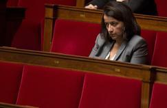 Cecile Duflot sur les bancs de l'Assemblée nationale en septembre 2014.