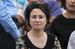 Hanin Zoabi, élue sur les listes du parti nationaliste arabe Balad, en octobre 2015. Reuters/Baz Ratner