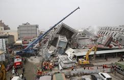 Le dernier bilan connu faisait état de 7 morts et des dizaines de disparus sous cet immeuble.