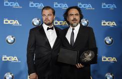 Leonardo DiCaprio a retrouvé Alejandro González Iñarritu aux DGA Awards, où le cinéaste mexicain a été salué par ses pairs pour The Revenant.
