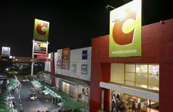 Un surpermarché Big C, en périphérie de Bangkok.