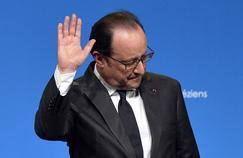 François Hollande, président de la République