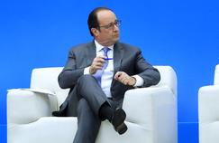 François Hollande en janvier à Paris.