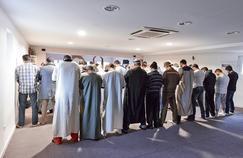 Première grande prière du vendredi à la mosquée de L'Arbresle depuis sa réouverture, le 29janvier.