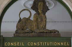 Fronton du Conseil constitutionnel.