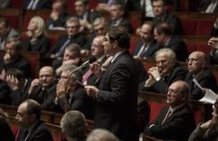Christian Jacob, président du groupe les Républicains à l'Assemblée nationale, le 10 février au Parlement.