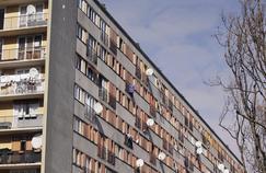 La Seine Saint-Denis, ici la cité du Chêne Pointu à Clichy-sous-Bois, est le département qui concentre la plus grande proportion d'habitants pauvres.