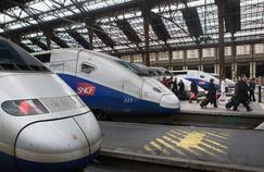Gare de Lyon à Paris. Le leader des télécoms français couvre la ligne TGV Paris-Lyon en 4G à l'exception des tunnels.