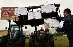 les agriculteurs demandent notamment l'étiquetage obligatoire du label «Élevé en France».