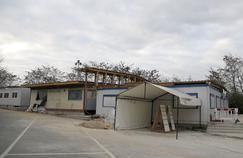 Mosquée de Lagny-sur-Marne après sa fermeture administrative, le 2 décembre 2015.
