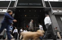 Lehman Brothers en 2008.