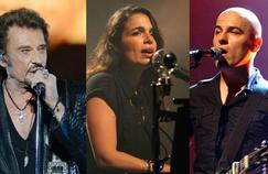 Les artistes Johnny Hallyday, Yael Naim et Dominique A sont nommés cette année aux Victoires de la Musique.