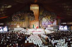 Le pape François a célébré samedi, à Mexico, une messe à la basilique de Notre-Dame-de-Guadalupe. Il s'est aussi recueilli devant l'image sainte de la Vierge de Guadalupe, patronne des Amériques.