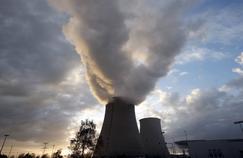 La centrale nucléaire de Nogent-sur-Seine (Aube).