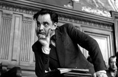Le docteur Marcel Petiot, accusé du meurtre de vingt-sept personnes sous l'Occupation. Ici lors de son procès aux Assises de la Seine en mars 1946.