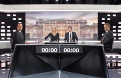 Les deux finalistes de la dernière élection présidentielle lors du débat télévisé avant le second tour.